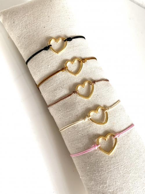 """Armband hart """"Lydia"""""""