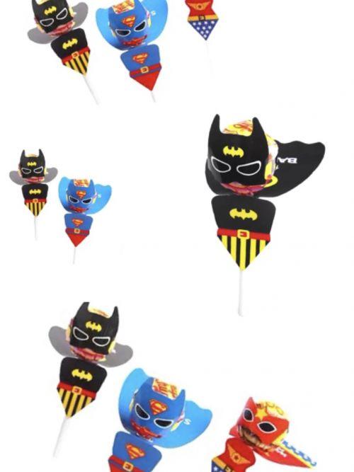 Traktatie superheld lolly
