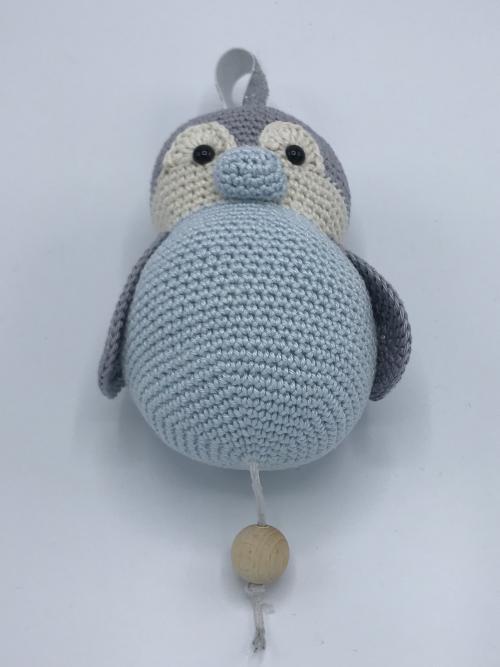 Muziekdoosje Pinguïn