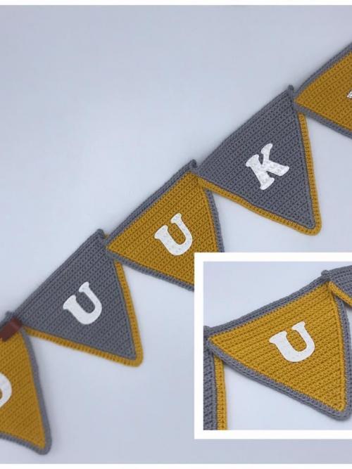 Vlaggenlijn Oker/Grijs