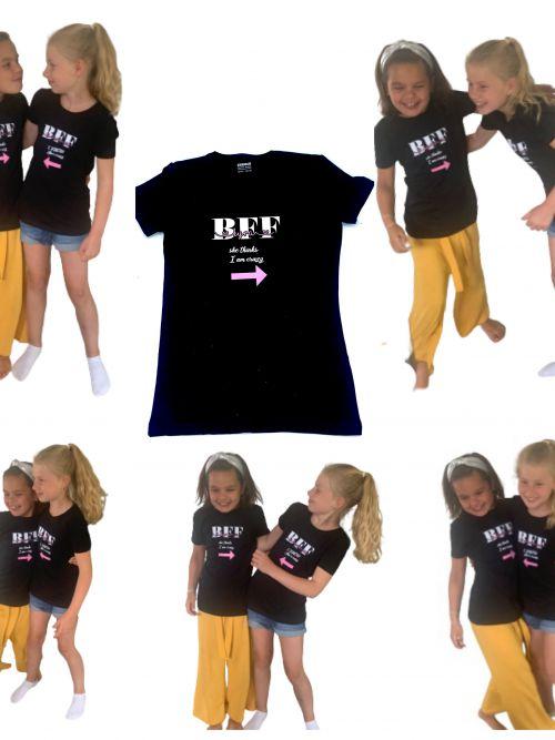 "T shirt kind ""BFF"""