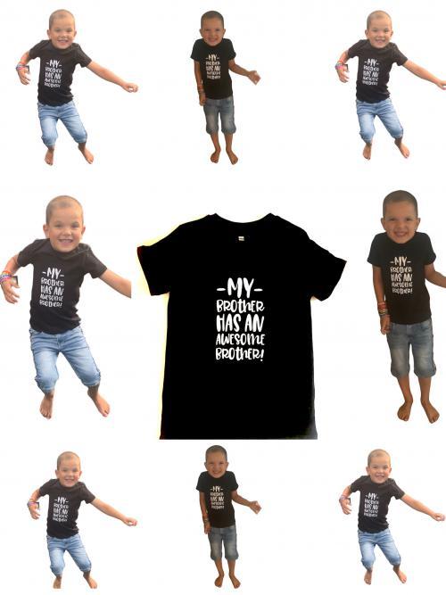 Kinder t shirt BIG BROTHER